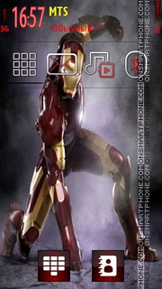 Iron Man Movie es el tema de pantalla