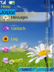 Blue Camomile CLK theme screenshot