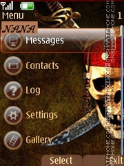 Pirate Man CLK theme screenshot