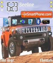Hummer H3 01 theme screenshot