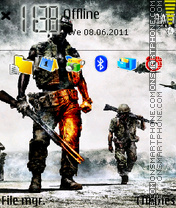 Battlefield 3 02 theme screenshot
