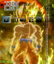 Goku 09 theme screenshot