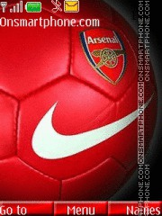 Arsenal With Tone 01 theme screenshot