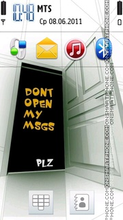 My Msgs theme screenshot