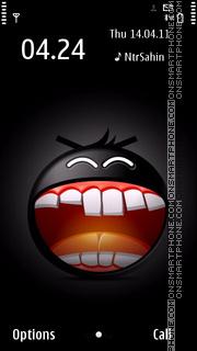 Crazy Smiling 01 es el tema de pantalla