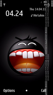 Crazy Smiling 01 theme screenshot
