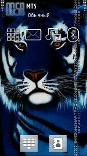 Blue Tiger 02 es el tema de pantalla